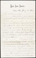 Joseph Cummings papers, Box 1, Folder 020: Correspondence, 1873-1876 and transcripts, p.3