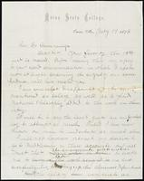 Joseph Cummings papers, Box 1, Folder 020: Correspondence, 1873-1876 and transcripts, p.13
