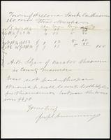 Joseph Cummings papers, Box 1, Folder 020: Correspondence, 1873-1876 and transcripts, p.25