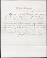 Joseph Cummings papers, Box 1, Folder 020: Correspondence, 1873-1876 and transcripts, p.28