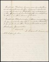 Joseph Cummings papers, Box 1, Folder 019: Correspondence, 1851-1867 and transcripts, p. 3