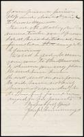 Joseph Cummings papers, Box 1, Folder 019: Correspondence, 1851-1867 and transcripts, p. 13