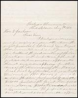 Joseph Cummings papers, Box 1, Folder 019: Correspondence, 1851-1867 and transcripts, p. 14