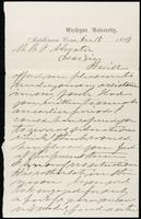 Joseph Cummings papers, Box 1, Folder 019: Correspondence, 1851-1867 and transcripts, p. 19