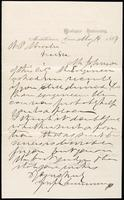 Joseph Cummings papers, Box 1, Folder 019: Correspondence, 1851-1867 and transcripts, p. 27