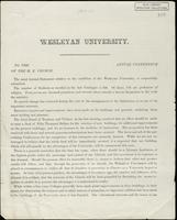 Box 001, Folder 003: Annual report of Wesleyan University, 1859-1860