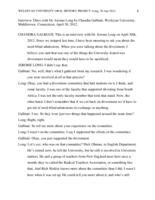 Oral history interview with Jerome Long [session 3], 2012 April 30