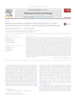Reducing the burden of suffering from eating disorders: Unmet treatment needs, cost of illness, and the quest for cost-effectiveness