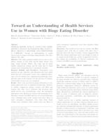 Toward an understanding of health services use in women with binge eating disorder