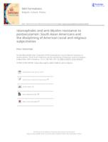 Islamophobic and anti-Muslim resistance to postsecularism: South Asian Americans and the disciplining of American racial and religious subjectivities