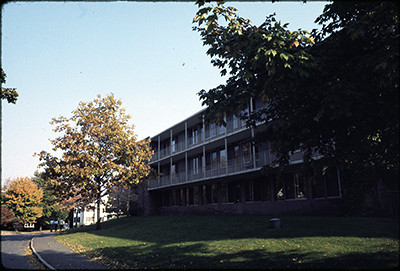 Folder 021, Box 137, Foss Hill Dorms (University Photographer's Collection)