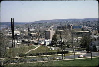 Folder 003, Box 137, Aerial View of Campus (University Photographer's Collection)