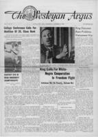 "024 and 025 - Argus, ""King Calls for White-Negro Cooperation in Freedom Fight,"" ""Race Problems, Vietnam War,"" and ""Martin Luther King: A Frustrating Prophet,"" November 23, 1966"