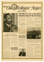 "028 - Argus, ""1500 Mourn Dr. King in Silent March,"" April 9, 1968"