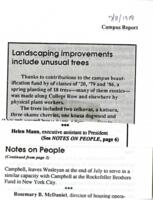 025 - Campbell leaves, Campus Report, July 8, 1988