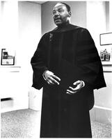 064 - Photo, Martin Luther King in regalia - full view