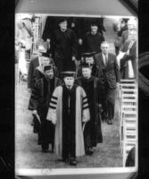 068 - Photo, Commencement 1964, Martin Luther King procession