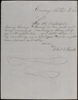 Chas. F. Thock to John Johnston, January 12, 1852