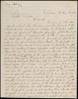 A. Rollins to John Johnston, February 3, 1852