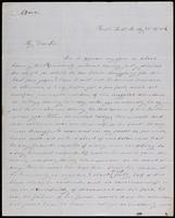 D. Wentworth to John Johnston May 31, 1852