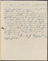 Waterman Keech to John Johnston, July 13, 1842
