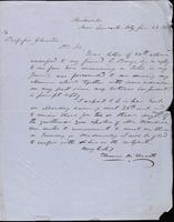 Thomas McSerath  to John Johnston, June 29, 1852