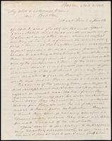 B.F. Jeffs to John Johnston, November 8, 1842