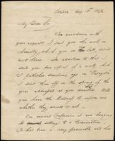 H. Fish to John Johnston, August 13, 1842