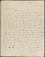 A.W. Cummings to John Johnston, July 12, 1842