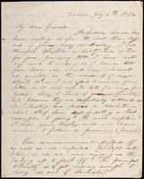 William H. Allen to John Johnston, July 16, 1842