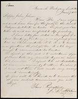 J. L. McKorn to John Johnston June 7, 1852