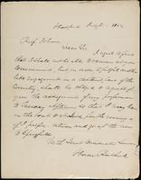 Horace Bashuck to John Johnston, July 21, 1842