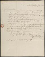 Benjamin Pillsbury to John Johnston, June 8, 1852