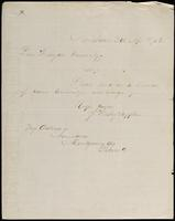 J. Wesley Supplee to John Johnston, April 9, 1852