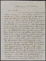 B.H. Loomis to John Johnston, October 21, 1851