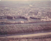 Photograph: Aerial view of Portland