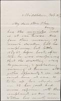 John Johnston to Mrs. Olin, February 20, 1862