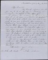 John Johnston to J. M. Reid about publishing an article, May 14, 1853-July 18, 1853
