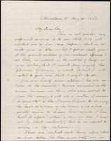 Civil War letter from John Johnston to C. D. Hubbard, May 30, 1861