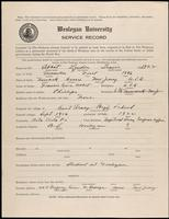 01.001.002 World War I service record for Lyndon Travis Abbot