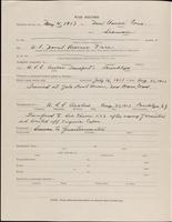 World War I service record for Lyndon Travis Abbot, p. 2