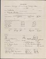 World War I service record for Alan Chichester Abeel, p. 2