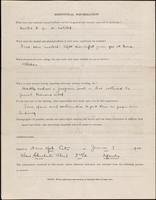 World War I service record for Alan Chichester Abeel, p. 4