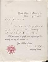 Edmund F. Slafter to John Johnston, April 5, 1876