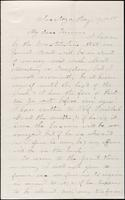 John Johnston letter to Treasurer, August 17, 1866