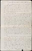 John Johnston letter to Financial Committee, April 22, 1856