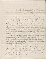 John Johnston letter to Financial Committee, July 19, 1856