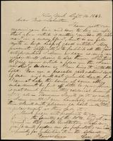 A.W. Cummings to John Johnston, April 18, 1843