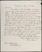 John Stewart to John Johnston, May 9, 1844