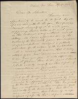 S. Allen to John Johnston, April 20, 1844